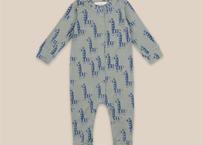 """【 Bobo Choses 20AW 】Zebras All Over Overall(22000107)""""ロンパース"""""""