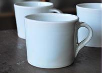白磁 マグカップ_五十嵐元次