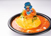 サーモントマトオムライスのシーフード姫