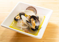 貝々の白ワイン蒸し