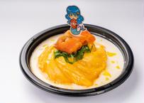 サーモンクリームオムライスのシーフード姫