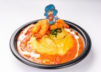 海老トマトオムライスのシーフード姫