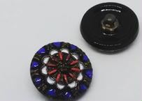 R-144チェコガラスボタン19mm