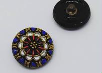 R-143チェコガラスボタン20mm