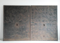 鉄と格子の蔵戸