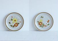 お花のワンプレート皿