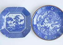 2種の大きめ和皿