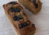 紅茶のプラムパウンドケーキ大