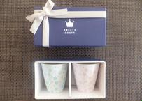 桜モチーフ カップ(H) 専用GIFT BOX入り 2個セット