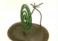 蚊取り線香立て(楕円皿)トンボ1