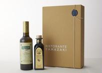 サルヴァーニョオリーブオイル500ml / モンテベッロバルサミコ8年熟成250ml