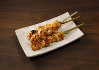 【炭火焼鶏とろ(肩肉)串素焼き35g】業務用 冷凍食品 焼き鳥