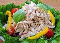 【ほぐし蒸し鶏 1kg】業務用 冷凍食品