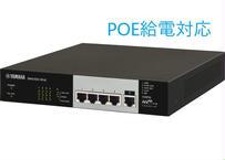 ヤマハ SWX2100-5PoE  シンプル L2 スイッチ 5ポート PoE 給電対応