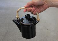 中嶋窯 黒釉土瓶
