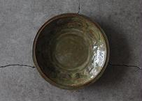 中嶋窯 6寸押紋鉢
