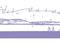 サウナの日 記念タオル(紫)