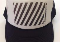 "TRUCKER mesh CAP ""SLASH"" (Black)"