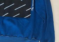 Vintage raglan sweat shirts  Blue