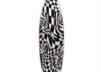 "5'11"" Circa80's HIGH  PERFORMANCE  ""Abby"" Air brushed & Hand shaped by Peter Schroff"