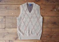 JCPenney argyle knit vest