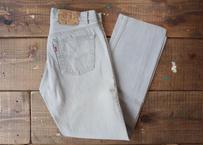 Levi's 501 denim pants gray