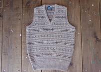 70~80's Lands'end wool knit vest