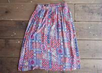 Radcliffe rayon long skirt