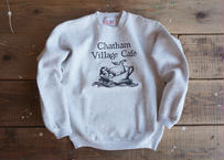 90's Hanes Chatham village cafe sweat