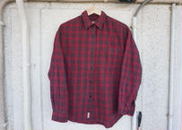 【Women's】Wool rich check shirt