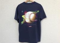 90's baseball space pocket tee