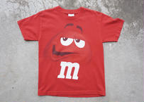 m&m's red tee