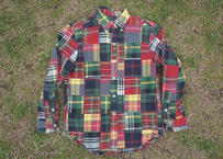 Polo patchwork shirt