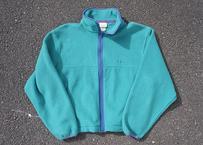 90's L.L.Bean fleece jacket emerald