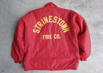 80's Strinestown fire co coach jacket