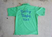70's Hilton  bowling shirt