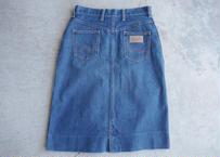 70's Wrangler denim skirt
