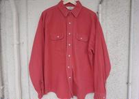 Red head chamois cloth shirt