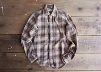 80's Apple bee shirts L/S cotton shirt