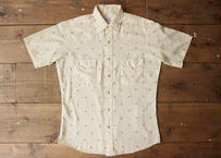 70's Stage west s/s western shirt