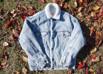 Levi's denim boa jacket