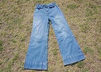 Ladies denim  flare pants