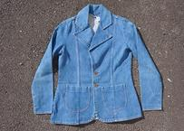 70's wrangler denim tailored jacket