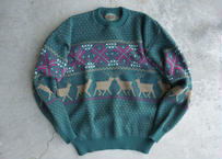 90's Nordic wool sweater