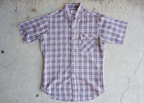 70's Levi's s/s check shirt