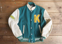 80's Leather varsity jacket