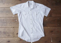 70's HbarC s/s western shirt