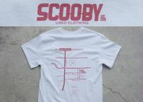 SCOOBY オリジナルTシャツ RED