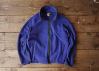 90's L.L.Bean fleece shirt Blue