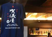 Tシャツ/藍色(indigo)